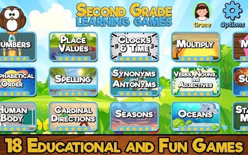 Second Grade Learning Games 4.4 screenshots 1