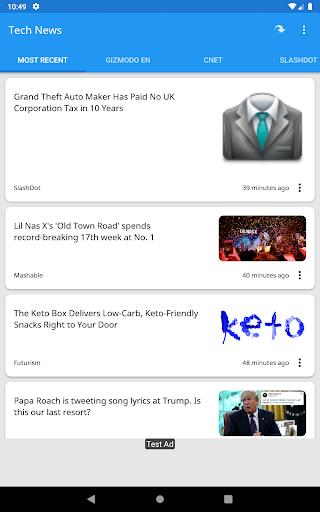 Tech News 1.9.1 Screenshots 16