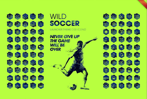 Soccer Game Launcher Theme