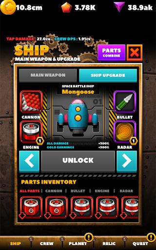 SPACE WAR : IDLE CLICKER 1.0.23 screenshots 22