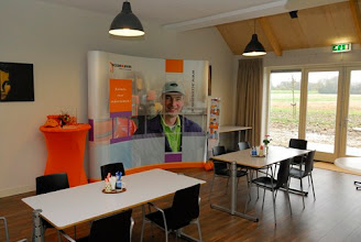 Photo: ACCON-AVM met stand in 'De Stal'