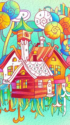 Color Fun - 数字で塗り絵 & ぬりえ - 色塗りアプリのおすすめ画像4