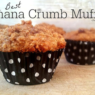 The BEST Banana Crumb Muffins