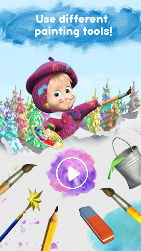 Masha and the Bear: Free Coloring Pages for Kids 1.0.3 screenshots 8
