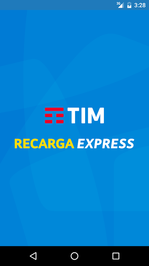 Recarga TIM- screenshot