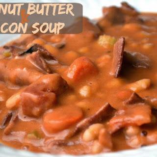 Peanut Butter & Bacon Soup
