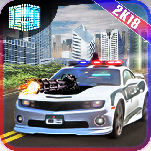 Drive Police shooting Car - Gangster chase (game)