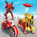 Grand Lion Robot Transform War : Space Robot Games icon
