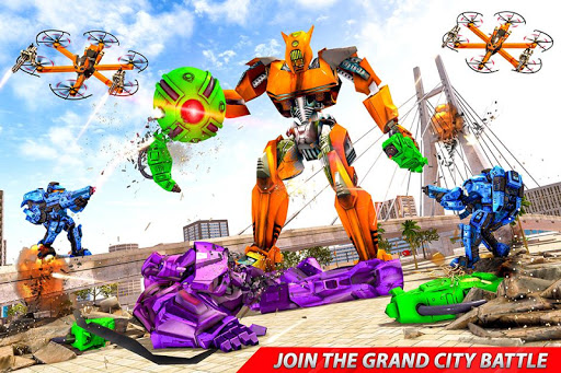 Drone Robot Car Transforming Gameu2013 Car Robot Games screenshots 4