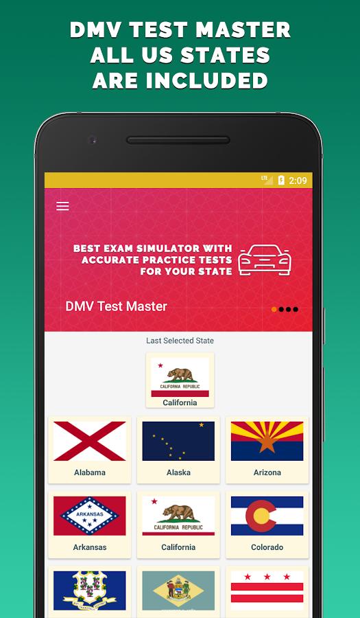 dmv handbook practice test