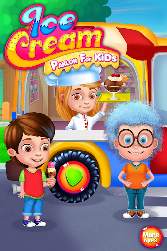 Ice Cream Parlor for Kids apkmr screenshots 1