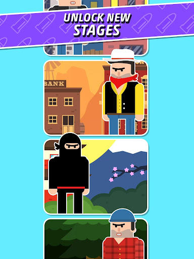 Mr Bullet - Spy Puzzles apkpoly screenshots 7