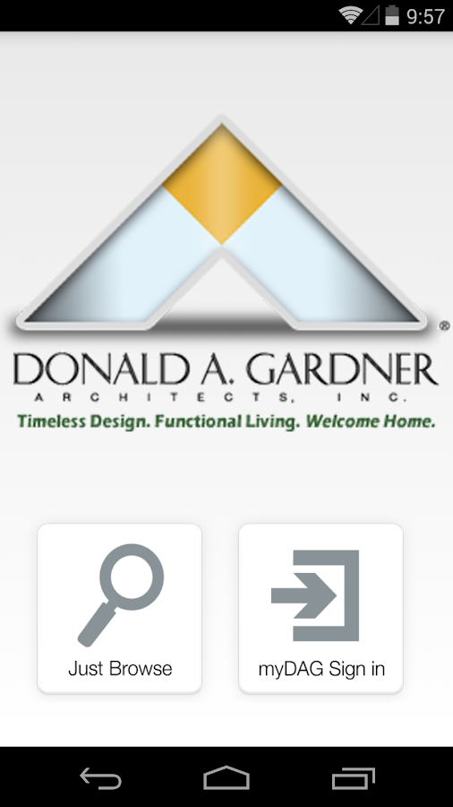 DAG - Don Gardner House Plans- screenshot