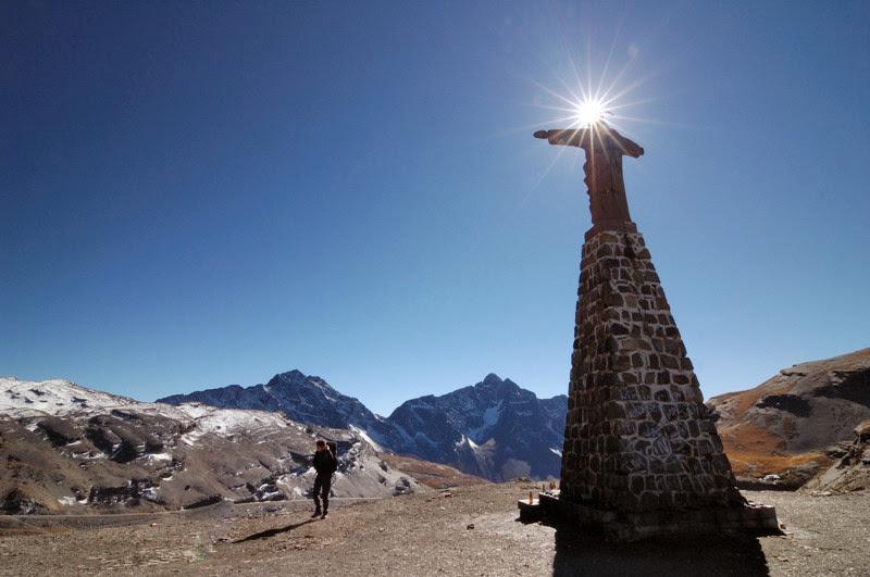 Photo: Jezis v sedle La Cumbre - start El Choro Trek