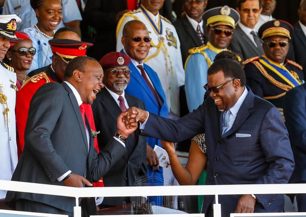 [PHOTOS] Uhuru attends Namibia Independence Day celebrations