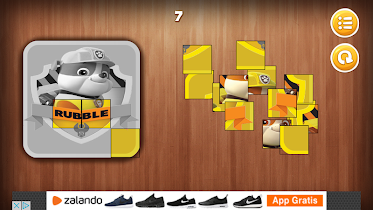 Paw Puppy Patrol Puzzle - screenshot thumbnail 05