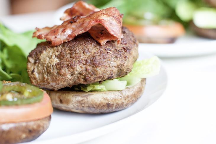 Portobello Mushroom Bacon Burgers (Gluten-Free, Paleo, Whole 30) Recipe