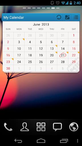 GO Calendar Widget screenshot 7