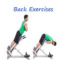 Back exercises icon
