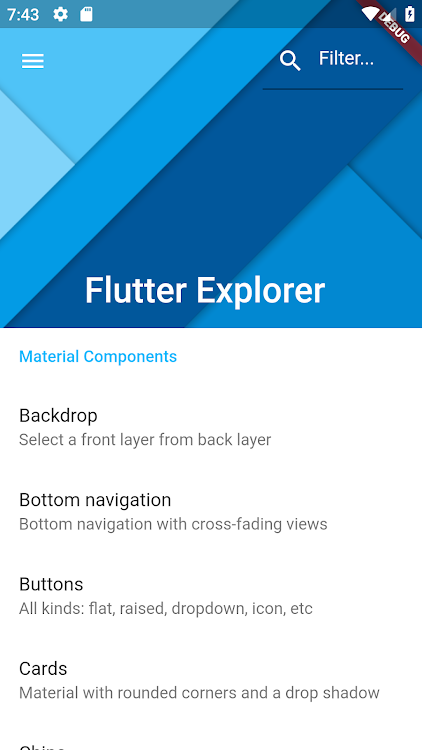 Flutter Explorer with 100+ examples – (Android Apps) — AppAgg