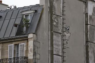 Photo: Street art - M. Chat - Viaduc des arts - Promenade plantée - Paris XIIe - bd Diderot - Av Daumesnil