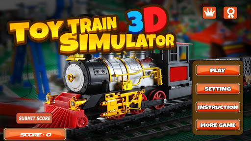 TOY TRAIN SIMULATOR 3D