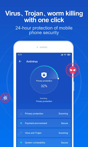 Security Master - Antivirus & Booster screenshot 1