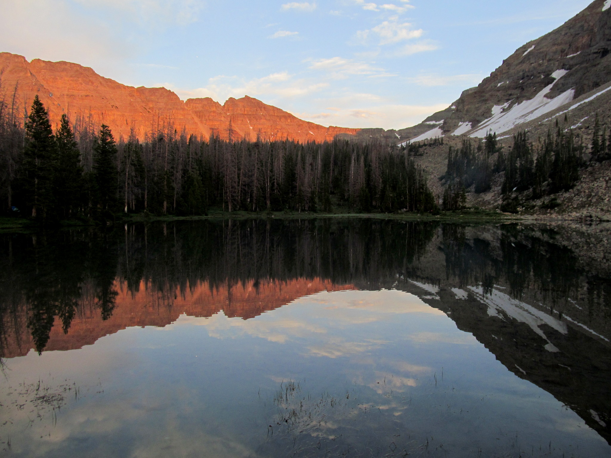 Photo: Lake BR-24 reflection
