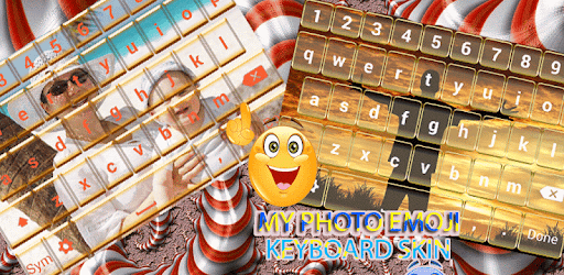 My Photo Emoji Keyboard Skin app (apk) free download for Android/PC/Windows screenshot