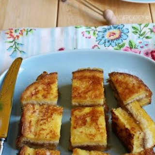 Pain Perdu With Figs And Fig Jam.