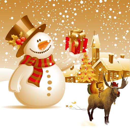 Merry Christmas Happy Theme