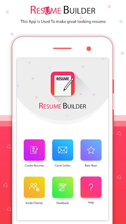 Resume Builder App Free Pdf Templates Cv Maker Android Apps Appagg