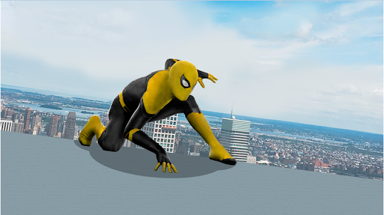 Flying Spider Rope Hero – Super Vice Town Crime 4