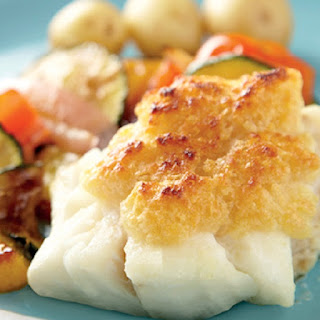 Cheesy Grilled Cod