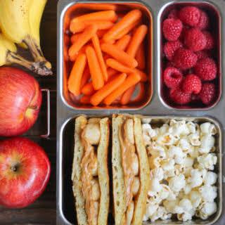 Lunchbox Pancake Sandwiches.