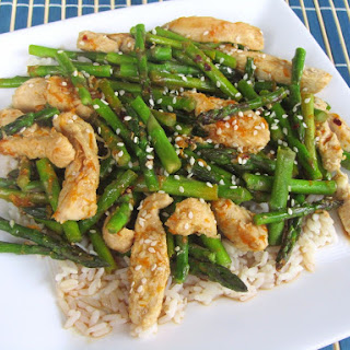 Orange Chicken With Asparagus Recipes