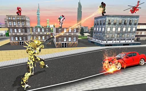 US Army Robot Transformation Jet Robo Car Tank War 1.2 screenshots 5