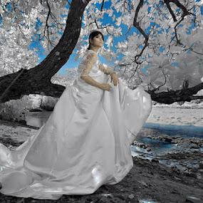 just here by IkanHiu Pegel Pegel - Wedding Bride