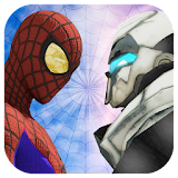 Spider Vs Transformer Battle : Spider Hero 3D