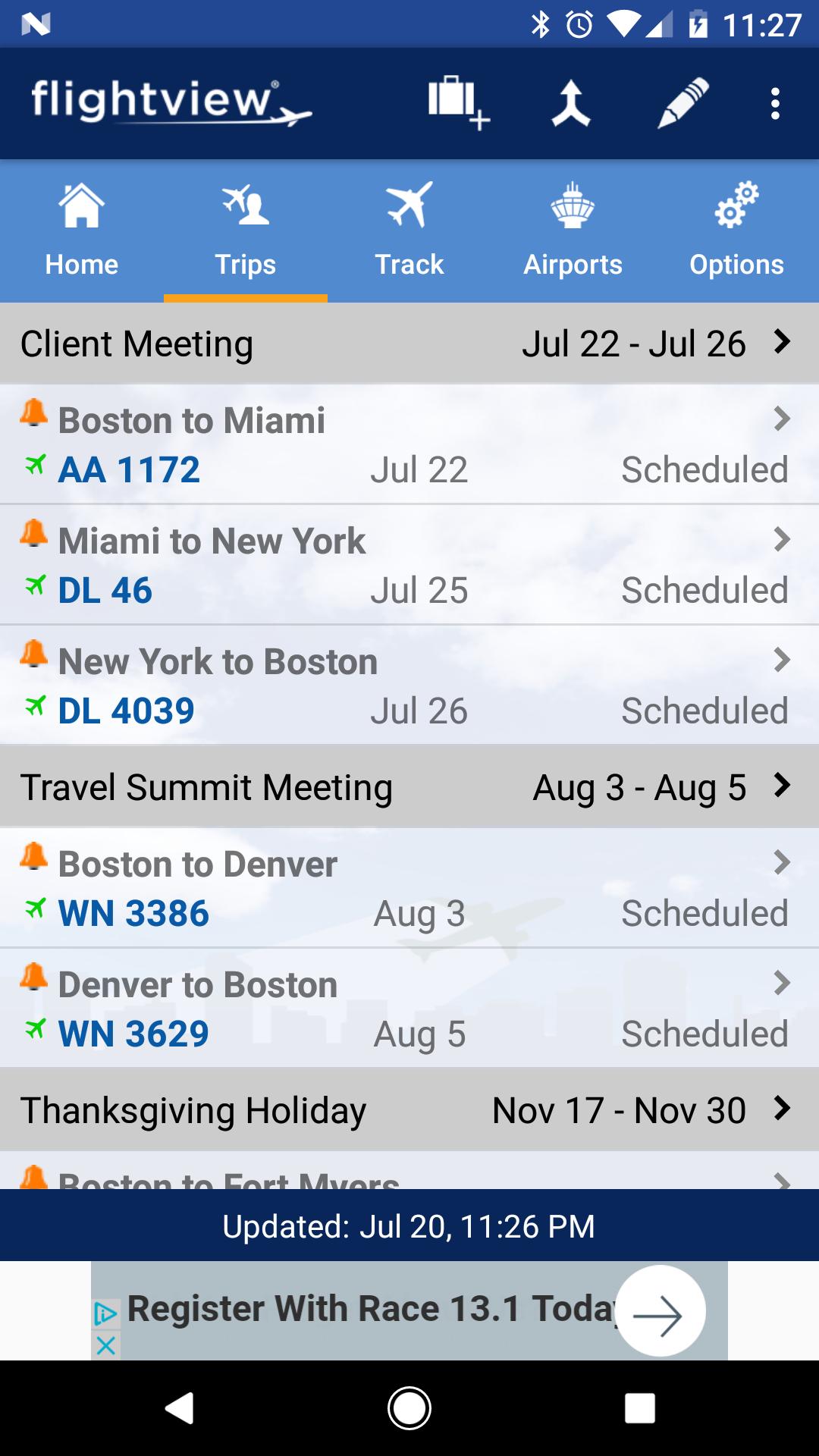 FlightView Free Flight Tracker screenshot #4