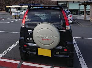テリオスキッド J111G 4WD 5MT テリオスキッド×キスマーク H16年式のカスタム事例画像 髭公爵さんの2019年03月25日23:04の投稿