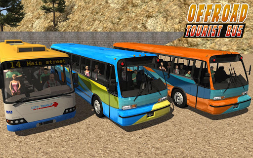 Uphill offroad bus driving sim 1.0.8 screenshots 13