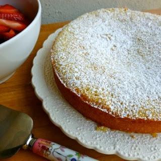 Skinny Vanilla Buttermilk Cake.