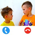 Vlad and Niki calling video chat icon