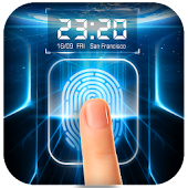 Fingerprint Locker with Real-time Weather