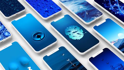 Blue Wallpaper 1.0 screenshots 1