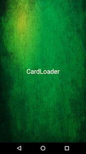 CardLoaderNG - náhled