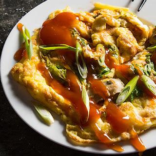 O Ah Jian (Taiwanese Oyster Omelet)