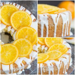 Old Fashioned Buttermilk Orange Juice Pound Cake.