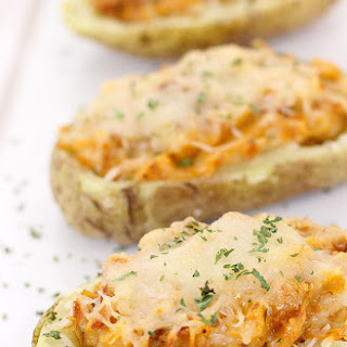 Tilapia Twice Baked Potatoes